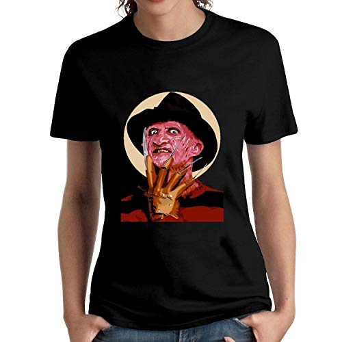 HAIZHENY Mujer Freddy Krueger A Nightmare Cotton Camiseta/T-Shirt tee