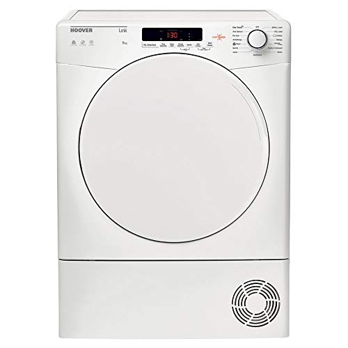 Hoover HLC9DF 9kg Freestanding Condenser Tumble Dryer - White