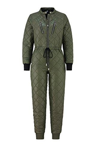 OnePiece Damen Urbanista Jumpsuit, Grün (Army), 40 (Herstellergröße: L) - 6
