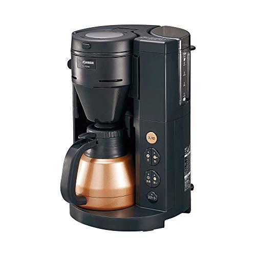 象印 コーヒーメーカー 全自動 540ml/4杯用 珈琲通 ブラック EC-RS40-BA