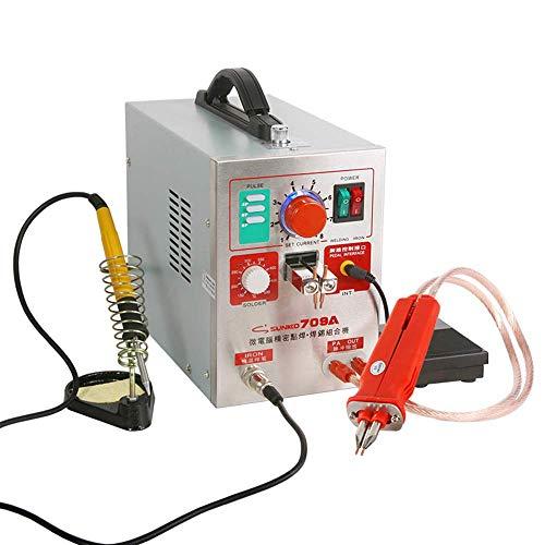 Gyt& Soudeuse de Tache 20V, soudeuse de Tache portative, Machine de Soudure spéciale de Batterie au Lithium-ION 500A, Nickel de Stylo Universel d'affichage numérique