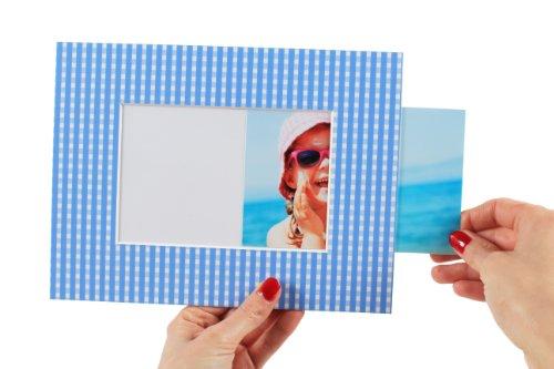 AlphaUVplus Einschub-Passepartout Aufsteller - Für Fotos, Bilder und Postkarten im Format 10x15cm