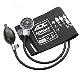 ADC Diagnostix 700 Pocket Aneroid Sphygmomanometer with Adcuff Nylon Blood Pressure Cuff, Adult