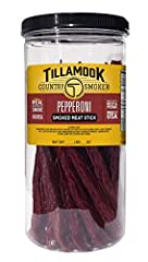 SATISFY YOUR HUNGER: Savory Pepperoni sticks real hardwood smoked to perfection FUEL YOUR BODY: Tender Pepperoni with 8g of protein and less than 1g of sugar per serving PERFECT PROTEIN ON-THE-GO: Our jerky is a great for lunch time, after school, on...