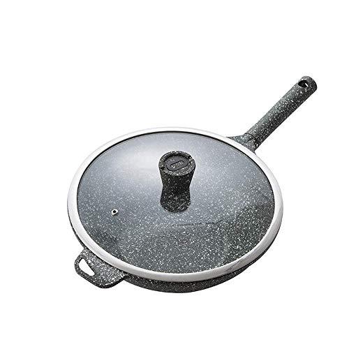 zyl Sartén Antiadherente Wok Light Sartén de cocción Coci