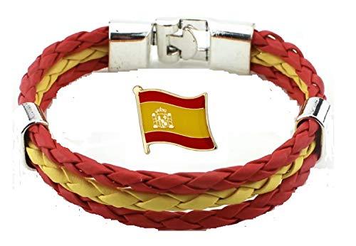 Tanto Badges Pulsera Bandera España Insignia Pin