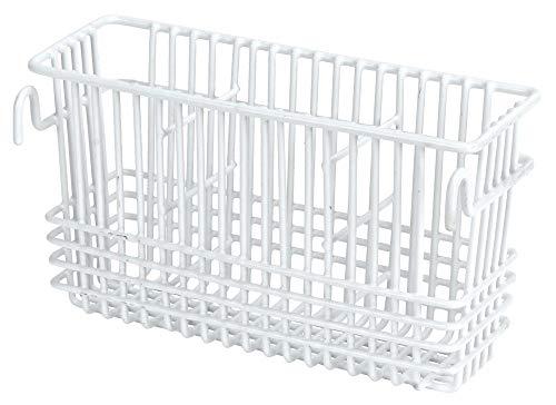Better Houseware Utensil Drying Rack - 3 Compartment (White)