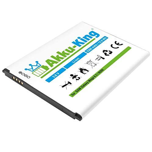 Akku-King Akku kompatibel mit Samsung EB-B700BE, B700BU, B700BC - Li-Ion 3300mAh - für Galaxy Mega 6.3 i9200, i9205