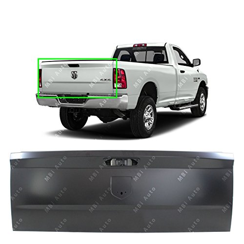 BUMPERS THAT DELIVER - Primered, Steel Tailgate Shell for 2009-2018 RAM 1500 2500 3500 Pickup 09-18, CH1900129