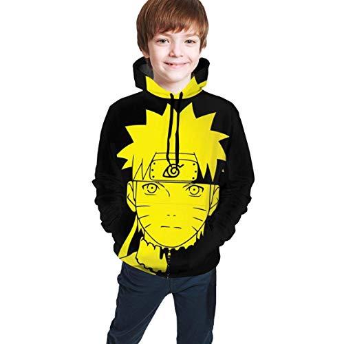 maichengxuan Boys & Girls Anime Na-ruto Long Sleeve Hoodie Pullover Hooded Sweatshirt with Kangaroo Pocket