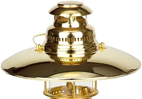 Petromax Top Reflector Gold-Plated - Seasonal Wrap Introduction Lantern Quality inspection
