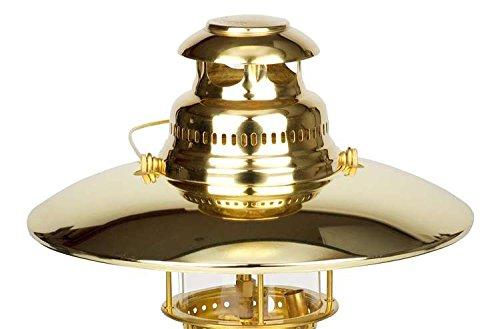 Petromax Reflektorschirme/Top-Reflektoren für Starklichtlampen (Messing, HK350/HK500)