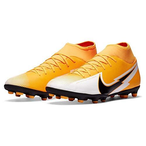 Nike Unisex Football Soccer Shoe, Laser Orange Black White...