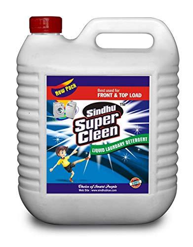 SINDHU SUPER CLEEN Laundry Liquid Detergent (5L)