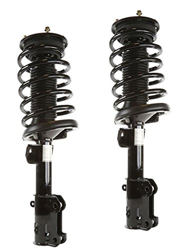 DTA 50145 Front Complete Strut Assemblies With Springs and Mounts Ready to Install OE Replacement -2-pc Pair Compatible with 2005-2010 Ford Mustang