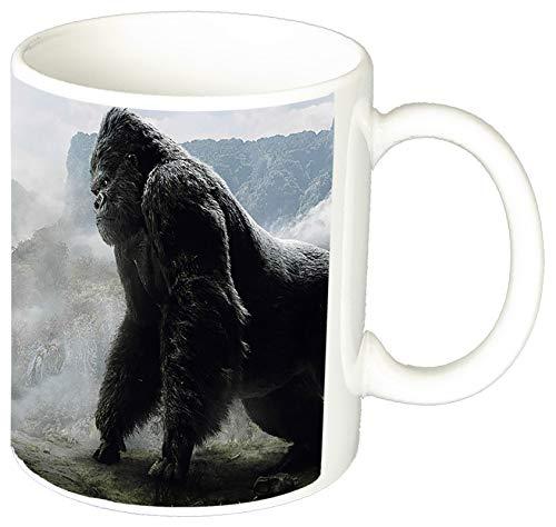 MasTazas King Kong Vs Godzilla Tasse Mug