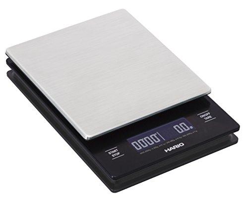 Hario V60 Metal Drip Scale - Feinwaage mit Timer - Edelstahl