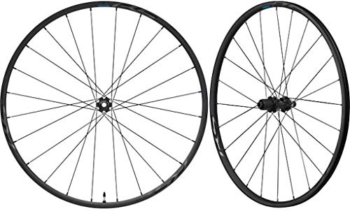 SHIMANO Road WH-RS370-TL Wheelset CL Thru-Axle 12mm 100mm/142mm Disc Brake Tubeless black 2021 mountain bike wheels 26'