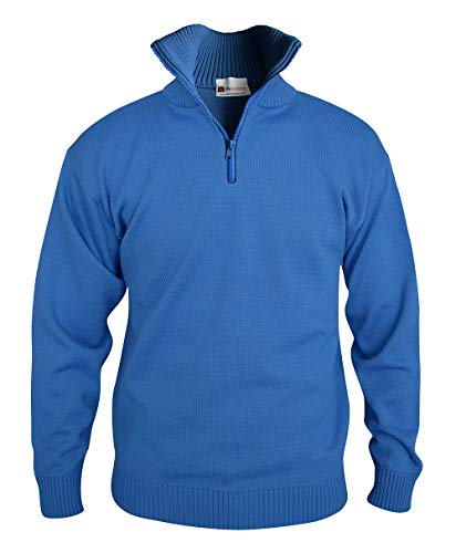 C.B.F. - Produzione professionale abbigliamento da lavoro Maglione Pullover con Collo Alto (Azzurro, L)