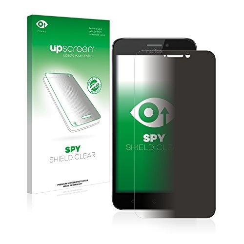 upscreen Anti-Spy Blickschutzfolie kompatibel mit TP-Link Neffos Y5s Privacy Screen Sichtschutz Bildschirmschutz-Folie