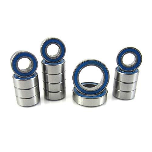 TRB RC ECX 1/10 2WD Boost, Ruckus, Torment Precision Ball Bearing Kit (15) BU Rubber Sealed