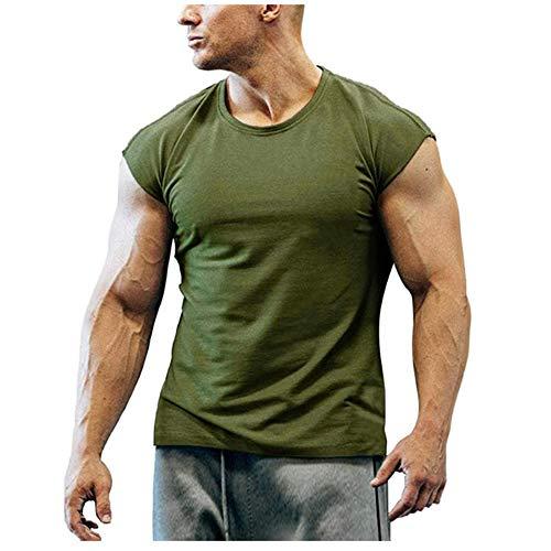 Camiseta sin Mangas de Boxeo Sanda Fitness para Hombre, Camiseta sin Mangas cómoda para Gimnasio, Culturismo, Camisetas Deportivas