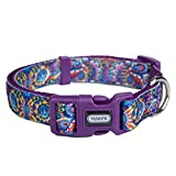 YUDOTE Dog Collar, Adjustable Nylon Collars for Medium Dogs & Puppies, Cute, Soft and Comfortable