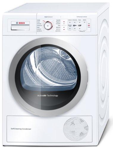 Bosch WTY86700 Kondenstrockner HomeProfessional / A-50% / 8 kg / weiß / SelfCleaning Condenser / DueTronic