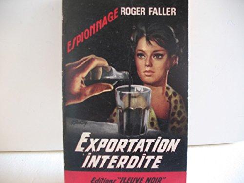 Exportation interdite