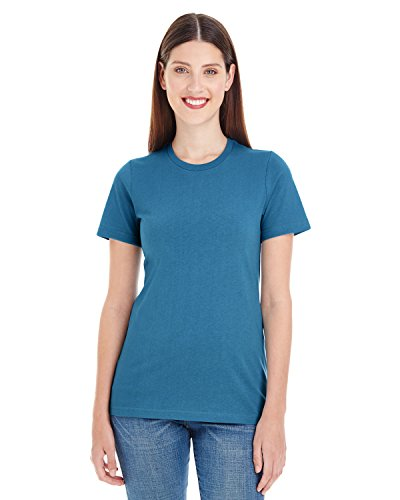 American Apparel Women's Organic Fine Jersey Classic Woman T-Shirt, Galaxy, Medium