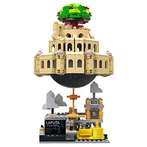 XINGBAO Sky City Set Spieluhr Baustein Bildung Backstein Schloss BAU Set Geschenk Montiert Baustein Spielzeug