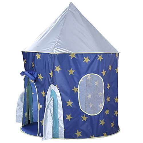 Btruely Kinderzelt Blau Sternenhimmel Indoor Spielhaus Spiel Schloss Umweltschutz Baby-Zelt-Jurte Junge Mädchen Baby
