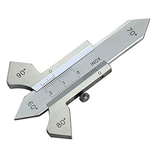 Schweißnahtlehre Nahtlehre Messbereich 20mm 60 Grad,80 Grad,90 Grad Profi Schweißnahtlehre