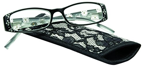 Magnivision Foster Grant Reading Glasses, Tilly, Strength Plus 2.00