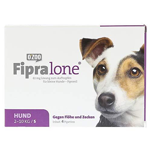 Fipralone 67 mg Lösung zum Auftropfen für kleine Hunde, 4 St