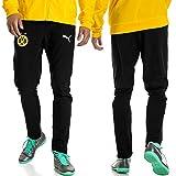 PUMA Herren BVB Leisure Pants 2 Side Pockets Zip with Elastica Hose -