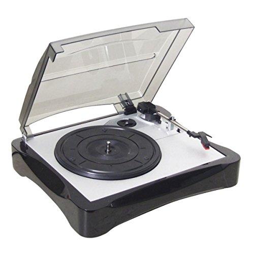 SoundLAB Compact I-Phono USB-Plattenspieler Kit mit Audacity-Software und Kabel