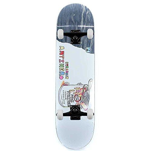 Anti Hero Skateboards Stranger Porous Walker Art complete skateboard 21cm