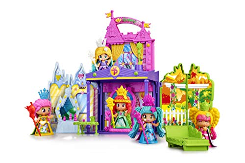 Pinypon - Mini Bambole e Play Set Castello delle Regine, 700015574