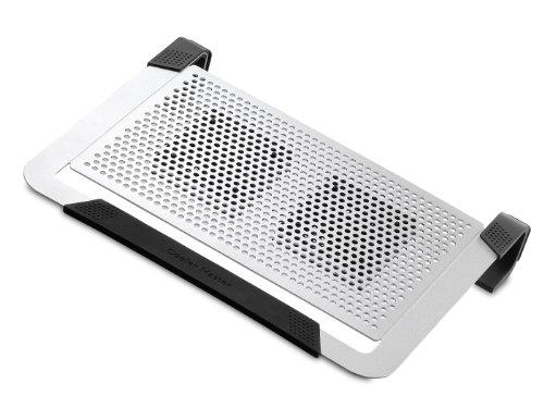 Cooler Master NotePal U2 Plus - (Cooler for Upto 17-inch Laptop) - Silver