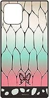 【カラー:胡蝶しのぶ】iPhone11Pro 鬼滅の刃 スクエア ガラス ケース カバー ハイブリッド キャラクター ソフト ソフトケース ハード ハードケース ガラスケース グッズ シンプル きめつのやいば 5.8inch iphone 11 pro アイフォン イレブン プロ スマホケース スマホカバー s-gd-7c930