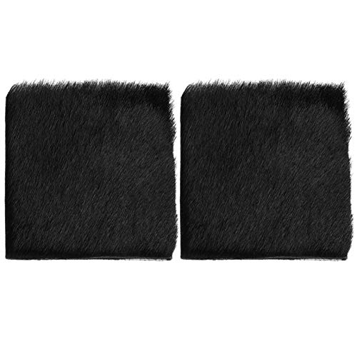 SALUTUYA Soporte de Flecha de Caza Lightwieht Negro/Marrón Soporte de Flecha Piel de Vaca Tamaño Compacto, para Caza o Partido(Black)