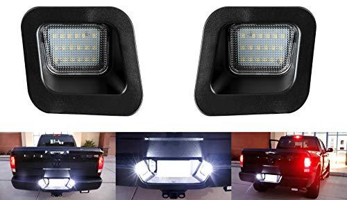 2 x Premium LED Kennzeichenbeleuchtung für RAM ab BJ 2002