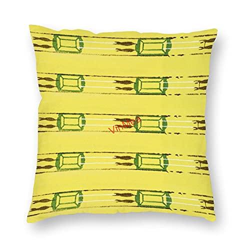 VinMea Funda de almohada decorativa especial hermoso patrón 9 fundas de cojín para sofá, dormitorio, hogar, oficina, decoración de 45 x 45 cm