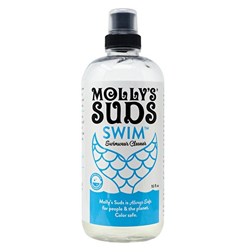 Molly's Suds Swimwear Cleaner, Chlorine Remover and Swimsuit Wash, 16 fl oz
