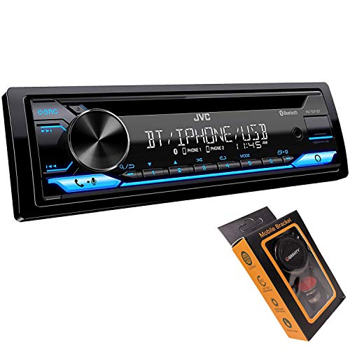 JVC KD-TD71BT Bluetooth Car Stereo Receiver with USB Port