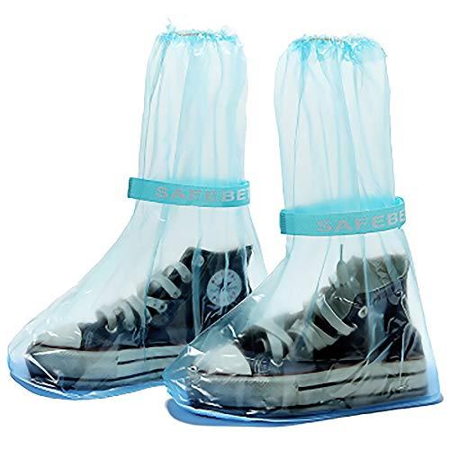 LANGING 2 Stück Einweg-Schuhüberzug für Stiefel, wasserdicht, tragbar, medizinische Schutzhauben
