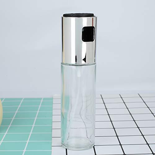 Fenghong Kochen Sprühflasche, Olivenöl Sprühflasche BBQ Sprayer Sauce Gewürz Sprühflasche Nachfüllbare Handpumpe Sprayer - # 29, Silber