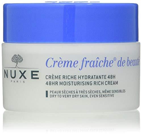 Nuxe Crema Hidratante 48H Pieles Secas. Crème fraîche de Beauté 50 Ml.