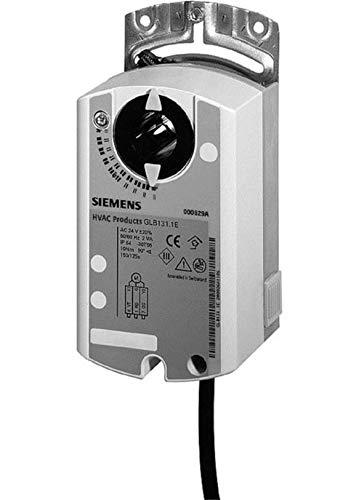 Siemens GLB136.1E, actuador de amortiguador de aire giratorio, CA 24 V, 3 posiciones, 10 Nm, 150 S, 2 interruptores auxiliares